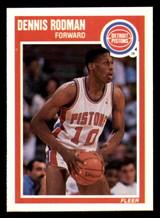 1989-90 Fleer #49 Dennis Rodman NM-Mint  ID: 269174