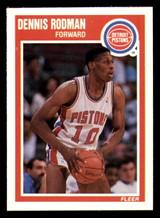 1989-90 Fleer #49 Dennis Rodman NM-Mint  ID: 269175