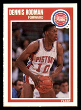 1989-90 Fleer #49 Dennis Rodman NM-Mint  ID: 269177