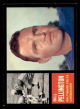 1962 Topps #9 Bill Pellington Ex-Mint  ID: 272789