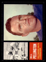 1962 Topps #9 Bill Pellington Ex-Mint  ID: 272790