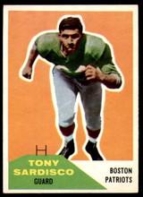 1960 Fleer #21 Tony Sardisco Ex-Mint