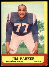 1963 Topps #5 Jim Parker Excellent+  ID: 218786