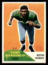 1960 Fleer #21 Tony Sardisco Excellent+  ID: 270862