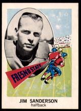1961 Nu-Card #157 Jim Sanderson Near Mint  ID: 216860