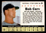 1961 Post Cereal #13 Bob Cerv Excellent+  ID: 280100