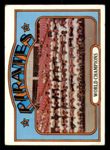 1972 Topps #1 World Champions Pirates Very Good  ID: 267572