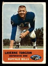 1962 Fleer #21 Laverne Torczon Very Good