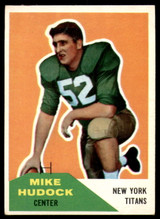 1960 Fleer #23 Mike Hudock Excellent+