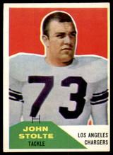 1960 Fleer #14 John Stolte Excellent+  ID: 244635
