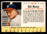 1963 Post Cereal #25 Billy Moran Very Good  ID: 280854