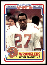 1984 Topps USFL #1 Luther Bradley NM-Mint  ID: 262941