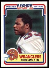 1984 Topps USFL #6 Kevin Long NM-Mint  ID: 262956