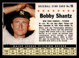 1961 Post Cereal #15 Bobby Shantz Excellent  ID: 280110