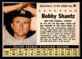 1961 Post Cereal #15 Bobby Shantz Excellent  ID: 280112