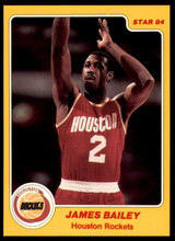 1983-84 Star #74 James Bailey NM-Mint