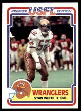 1984 Topps USFL #8 Stan White NM-Mint  ID: 262962
