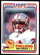 1984 Topps USFL #9 Buddy Aydelette NM-Mint  ID: 262965