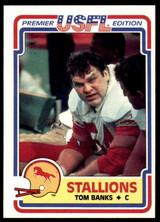 1984 Topps USFL #10 Tom Banks NM-Mint  ID: 262966