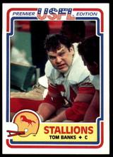 1984 Topps USFL #10 Tom Banks NM-Mint  ID: 262968