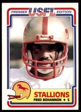 1984 Topps USFL #11 Fred Bohannon NM-Mint  ID: 262970