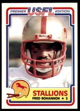 1984 Topps USFL #11 Fred Bohannon NM-Mint  ID: 262971