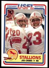 1984 Topps USFL #12 Joe Cribbs NM-Mint  ID: 262973