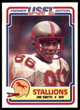 1984 Topps USFL #15 Jim Smith NM-Mint  ID: 262982