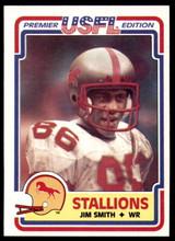 1984 Topps USFL #15 Jim Smith NM-Mint  ID: 262983