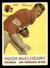 1959 Topps #5 Hugh McElhenny Poor