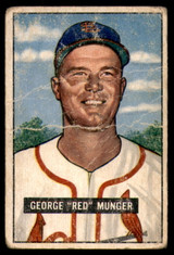 1951 Bowman #11 Red Munger Poor  ID: 226672