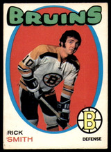 1971-72 O-Pee-Chee #174 Rick Smith Very Good