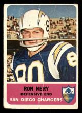 1962 Fleer #88 Ron Nery Poor