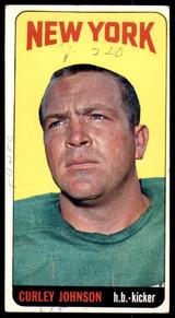 1965 Topps #119 Curley Johnson Good SP