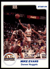 1983-84 Star #187 Mike Evans NM-Mint
