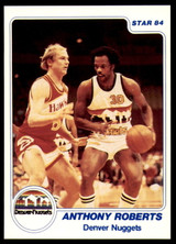 1983-84 Star #190 Anthony Roberts NM-Mint