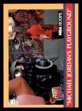 1990-91 Hoops #382 Michael Jordan's Playground NM-Mint  ID: 269223