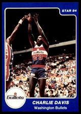 1983-84 Star #206 Charles Davis NM-Mint