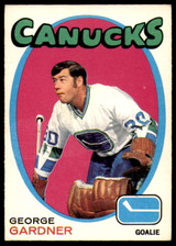 1971-72 O-Pee-Chee #235 George Gardner Very Good  ID: 245678