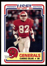 1984 Topps USFL #69 Clarence Collins NM-Mint  ID: 263133