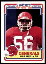 1984 Topps USFL #70 Willie Harper NM-Mint  ID: 263134