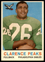 1959 Topps #8 Clarence Peaks Excellent+  ID: 245732