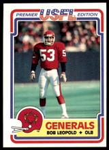 1984 Topps USFL #72 Bobby Leopold NM-Mint RC Rookie  ID: 263141