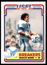 1984 Topps USFL #77 Marcus Marek NM-Mint  ID: 263155