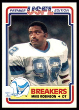 1984 Topps USFL #79 Mike Robinson NM-Mint RC Rookie  ID: 263161