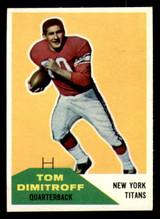 1960 Fleer #16 Tom Dimitroff Very Good  ID: 270856