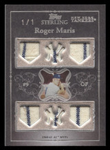 2007 Topps Sterling Roger Maris GU 6x Game Used Yankees 1960-61 AL MVP 1/1