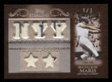 2007 Topps Sterling Stardom Roger Maris GU 5x Game Used Yankees 1960-66 1/1