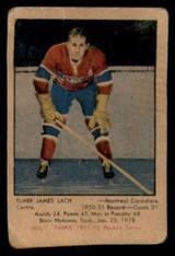 1951-52 Parkhurst #1 Elmer Lach Very Good