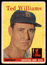 1958 Topps #1 Ted Williams G-VG